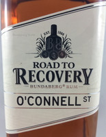 SOLD! BUNDABERG RUM ROAD TO RECOVERY O'CONNELL ST 700ML