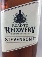 SOLD! BUNDABERG RUM ROAD TO RECOVERY STEVENSON ST 700ML