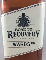 SOLD! BUNDABERG RUM ROAD TO RECOVERY WARDS RD 700ML-