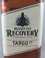 SOLD! BUNDABERG RUM ROAD TO RECOVERY TARGO ST 700ML