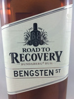 SOLD! BUNDABERG RUM ROAD TO RECOVERY BENGSTEN ST 700ML-