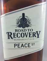 SOLD! BUNDABERG RUM ROAD TO RECOVERY PEACE ST 700ML-