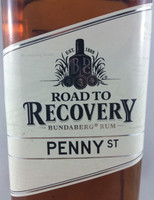 SOLD! BUNDABERG RUM ROAD TO RECOVERY PENNY ST 700ML