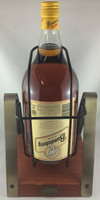 "SOLD! -BUNDABERG ""BUNDY"" RUM UP BEAR 3 2L UPSIDE DOWN LABEL WITH CRADLE"
