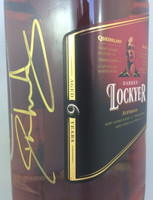 "SOLD! -BUNDABERG ""BUNDY"" RUM DARREN LOCKYER SIGNED #154 BOXED 700ML"