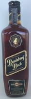 """SOLD! -BUNDABERG """"BUNDY"""" RUM BLACK 1988 VAT 136 DAMAGED LID LABEL #45637 700ML"""