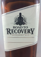 "SOLD! BUNDABERG ""BUNDY"" RUM ROAD 2 RECOVERY ""BLANK"" LABEL 700ML"