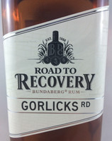 "SOLD! -BUNDABERG ""BUNDY"" RUM ROAD 2 RECOVERY GORLICKS RD 700ML"