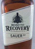 "SOLD! -BUNDABERG ""BUNDY"" RUM ROAD 2 RECOVERY SAUER ST 700ML"