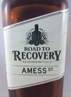 "SOLD! -BUNDABERG ""BUNDY"" RUM ROAD 2 RECOVERY AMESS ST 700ML"