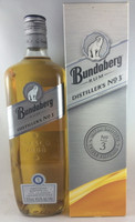 "SOLD! -BUNDABERG ""BUNDY"" RUM DISTILLERS NO 3 SILVER BOX 1125ML"