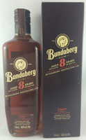 SOLD! BUNDABERG RUM 2007 8 YEAR OLD BOXED 700ML'