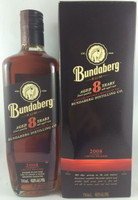 SOLD! BUNDABERG RUM 2008 8 YEAR OLD BOXED 700ML'