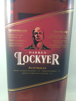 SOLD! BUNDABERG RUM DARREN LOCKYER #10886 700ML