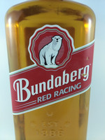 "SOLD! BUNDABERG ""BUNDY"" RUM RED RACING 700ML/"