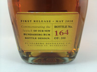 SOLD! RARE STAFF ISSUE BUNDABERG UP RUM NUMBERED! #164 700ML