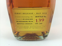 SOLD! RARE STAFF ISSUE BUNDABERG UP RUM NUMBERED! #139 700ML
