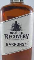 SOLD! BUNDABERG RUM ROAD TO RECOVERY BARRONS RD 700ML---