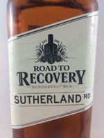 SOLD! BUNDABERG RUM ROAD TO RECOVERY SUTHERLAND RD 700ML-