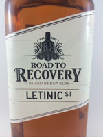 SOLD! BUNDABERG RUM ROAD TO RECOVERY LETINIC ST 700ML