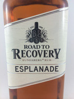 SOLD! BUNDABERG RUM ROAD TO RECOVERY ESPLANADE 700ML-