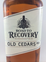 SOLD! BUNDABERG RUM ROAD TO RECOVERY OLD CEDARS RD 700ML-