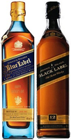 JOHNNIE WALKER BLUE LABEL & BLACK LABEL PACK