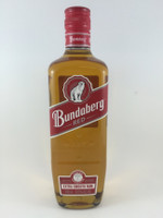 "SOLD! BUNDABERG ""BUNDY"" RED RUM BEAR 3 DOUBLE LINES 700ML"
