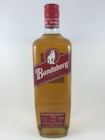 "SOLD! BUNDABERG ""BUNDY"" RUM BEAR 4 RED DOUBLE LINES 1000ML"