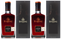"BUNDABERG RUM ""BUNDY"" MASTER DISTILLERS BLENDERS 2015 TWIN PACK BOXED"