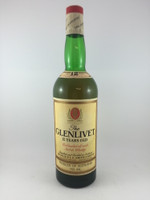 GLENLIVET 1970S 12 YEAR OLD 750ML