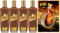 BUNDABERG RUM BANANA & TOFFEE ROYAL LIQUEUR PACK BONUS BEAST OF BUNDY POSTER