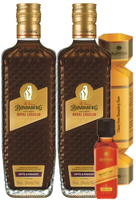 BUNDABERG RUM COFFEE & CHOCOLATE ROYAL LIQUEUR BONUS BON BON & SELECT VAT MINI