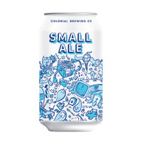COLONIAL SMALL ALE CANS 375ML CASE OF 24