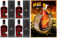 "BUNDABERG RUM ""BUNDY"" MASTER DISTILLERS BLENDERS 2015 QUAD PACK BOXED"