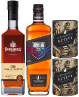 "BUNDABERG ""BUNDY"" ORIGINAL UP RUM STATE OF ORIGIN 2016 & SMALL BATCH PLUS 2 BONUS MUTINY COOLERS"