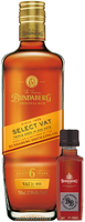 SOLD! BUNDABERG RUM SELECT VAT BONUS BLACK BARREL MINI