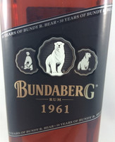 SOLD! BUNDABERG RUM BEARS 50TH BIRTHDAY 1961 3 BEAR 700ML-