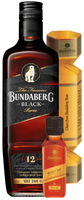 BUNDABERG RUM BLACK VAT 244 12 YEAR OLD 1L BLACK BOTTLE