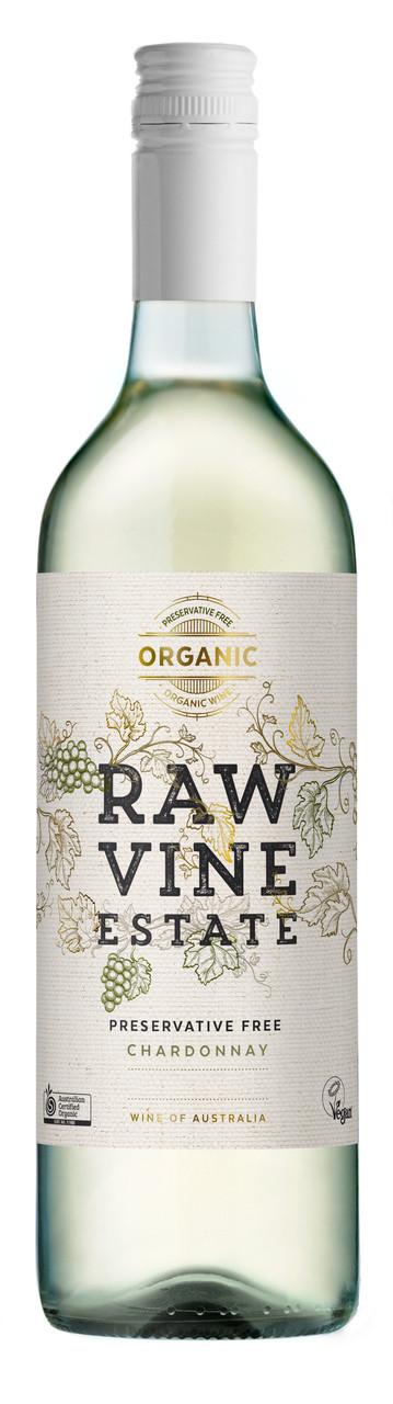 Raw Vine Estate Chardonnay Organic Preservative Free