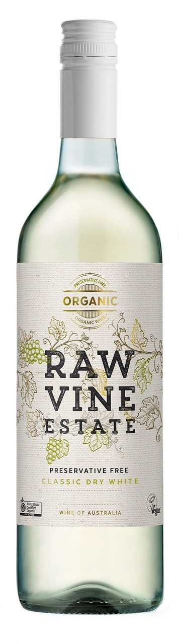 Raw Vine Estate Classic Dry White Organic Preservative Free