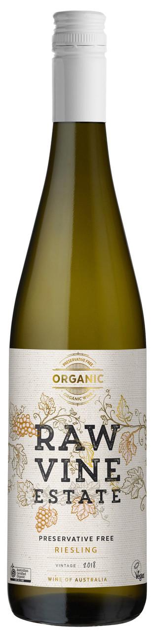 Raw Vine Estate Riesling Organic Preservative Free