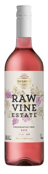 Raw Vine Estate Rose (Montepulciano) Organic Preservative Free
