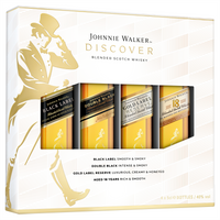 Johnnie Walker Discover Pack 4*50ml