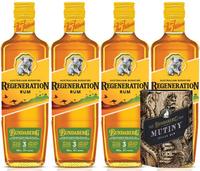 Bundaberg Australian Bushfire Regeneration Rum 4 Pack Bonus Stubbie Cooler 700ml