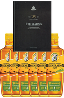Bundaberg Australian Bushfire Regeneration Rum 6 Pack Bonus 125th Anniversary Book 700ml