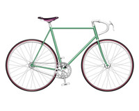 Turquoise Single Speed Bike