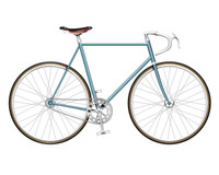 Baby Blue Single Speed Bike