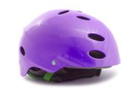 Purple Bike Helmet