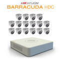16 Hikvision Barracuda camera kit with TurboHD DVR Recorder